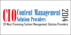 20 Most Promising Content Management Solution Providers