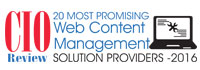 Top 20 Web Content Management Solution Companies - 2016